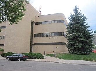 Colorado School of Mines - George R. Brown Hall houses various engineering disciplines, including mining.