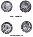 George V Sixpence and Threepence.jpg