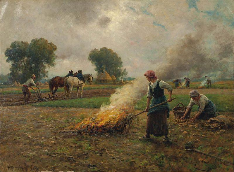 File:Georges-Philibert-Charles Maroniez - La cueillette des pommes de terre.jpg