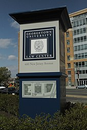 Georgetown University Law Center - Wikipedia