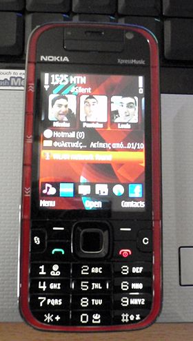Georgy Nokia 5730 Homepage.JPG