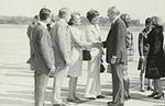 Gerald Ford deplaning at Patrick Henry Airport before third debate17.jpg