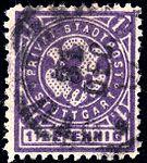 Germany Stuttgart 1890-99 local stamp 1.5pf - 11a used deep violet.jpg