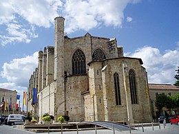 Gers Condom Cathedral of Saint-Pierre outside 01.jpg