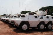 Ghana peacekeeping vehicles