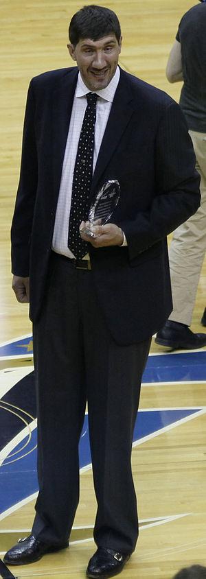 Sport in Romania - Gheorghe Mureșan pictured in 2010.