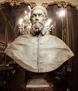 Busts of Pope Innocent X