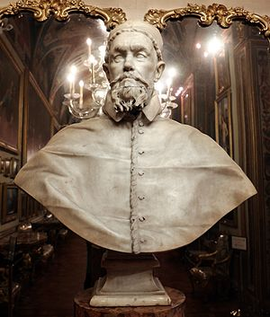 Busts of Pope Innocent X - First version