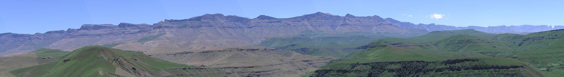 drakensberg, monti dei draghi, sudafrica