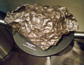 Gibeon meteorite at the Anchorage Museum.jpg