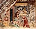 Giovanni cristiani e bottega, natività, crocifissione con santi e compianto, 1390 ca. 05.jpg