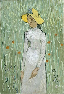 <i>Girl in White</i> painting by Vincent van Gogh
