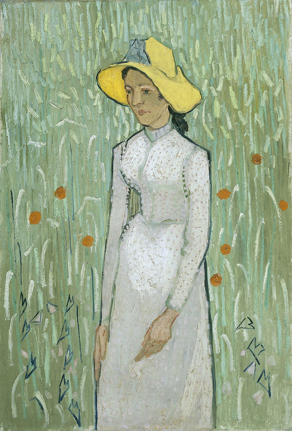 Girl in White by Vincent Van Gogh - NGA