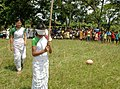 Girls of Topatoli village, Dimoria Block of Kamrup District participating at rural sports organised by the Directorate of Field Publicity on the occasion of the Public Information Campaign organized by Press Information.jpg