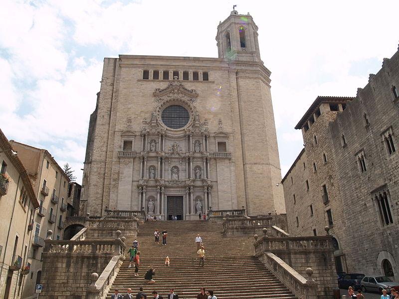 File:Girona - Catedral (Façana S.XVIII-XX).JPG