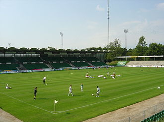 Akademisk Boldklub - Gladsaxe Stadium where AB plays their home matches.