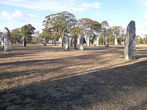 Glen Innes, New South Wales - Standing Stones, Glen Innes, NSW.