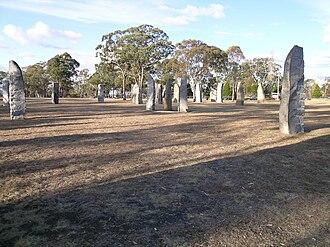 Glen Innes, New South Wales - Standing Stones, Glen Innes, NSW.