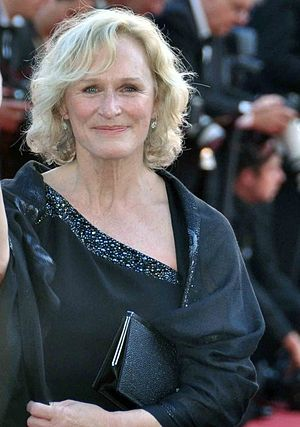 English: Glenn Close at the Cannes film festiv...