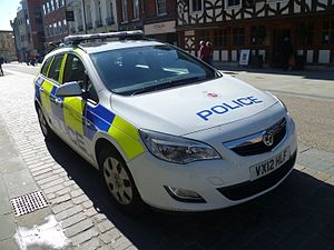 Gloucestershire Constabulary - Gloucestershire Constabulary vehicle
