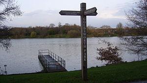 Goldsworth Park - Image: Goldsworth Park SU9858 238