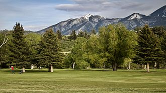 Livingston, Montana - Golf course, Livingston, Montana