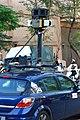 Google Street View camera car on Songlian Rd., Taipei 20090209 03.jpg