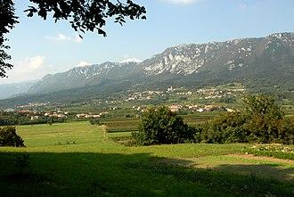 Vipava Valley - Image: Gora Budanje Duplje 15092007 01