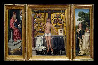 Triptych of Antonius Tsgrooten