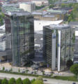 Gothia Towers from the Liseberg tower.jpg