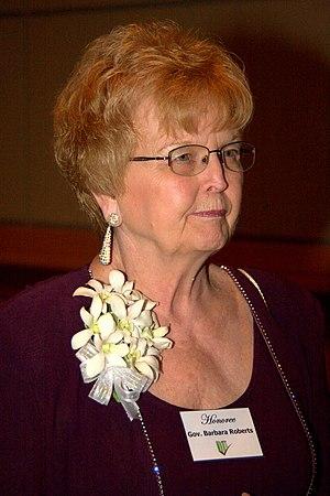 Barbara Roberts - Image: Governor Barbara Roberts