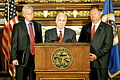 Governor Mark Dayton holding a press conference to discuss the budget 2.jpg