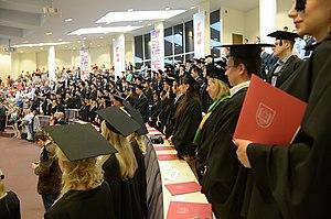 Mykolas Romeris University - Graduation ceremony at MRU.