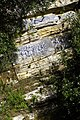 Graffiti at the bottom of the Zigzag Path - geograph.org.uk - 1556723.jpg