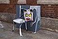 Graffiti in Shoreditch, London - Art Is Trash (9447168388).jpg