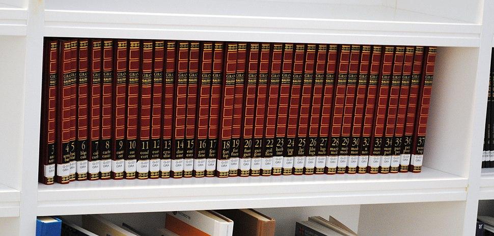 Gran Enciclopedia Galega na Biblioteca de Galicia