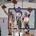 Grass Skiing World Championships 2009 Super-G Men Flower Ceremony.jpg