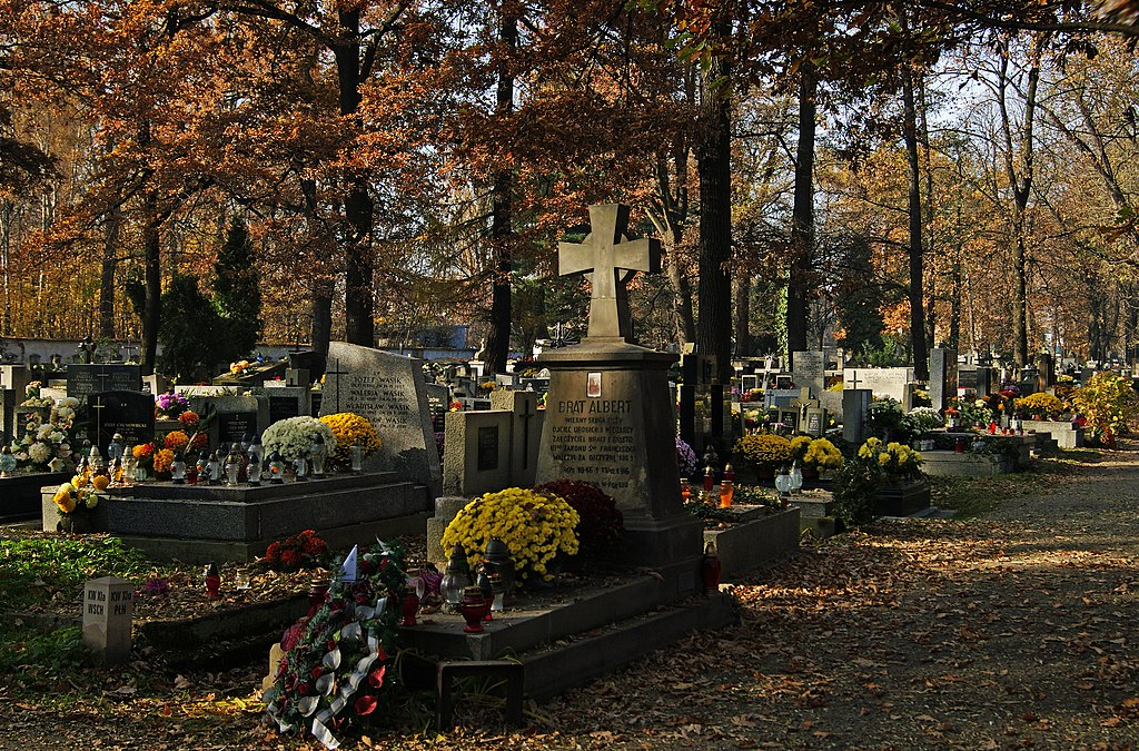 Grave of St. Adam Chmielowski (Father Albert), Rakowice Cemetery, 26 Rakowicka street, Krakow, Polandt