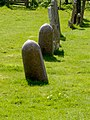 Gravestones St Nicholas' Hinxworth - geograph.org.uk - 1073318.jpg