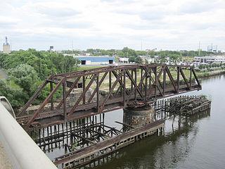 Philadelphia, Wilmington and Baltimore Railroad Bridge No. 1 Railroad bridge in Philadelphia, Pennsylvania