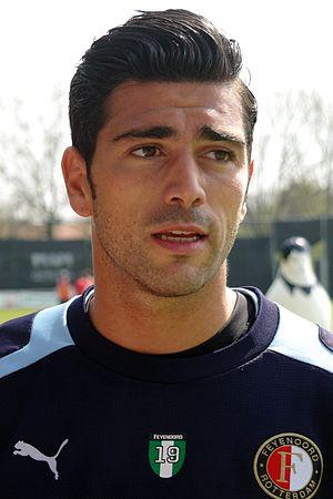 Graziano Pellè - Pellè in training with Feyenoord in 2013