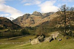 Great Langdale - The Langdale Pikes and the Langdale Boulders, Great Langdale.