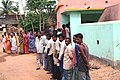 Great enthusiasm among the voters as evident in huge turn out in first phase of West Bengal Assembly Election-2006 at Hansibad Primary School, Chatna in Bankura District, West Bengal on April 17, 2006.jpg