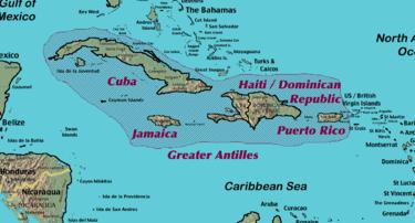 Cartina Geografica Haiti.Caraibi Wikivoyage Guida Turistica Di Viaggio