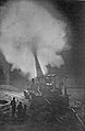 Greatest French gun (320mm) at moment of firing during a night bombardment. The belch of smoke from the explosion of... - NARA - 533675 a.jpg