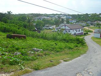Eleuthera - Gregory Town, Eleuthera in December 2012.