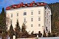 Greifenburg Schloss ueber Marktplatz 16012011 115.jpg