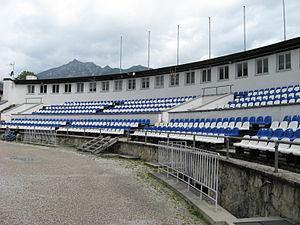 Große Olympiaschanze - Stands