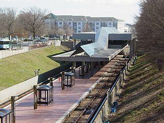 Grosvenor–Strathmore station Washington Metro station