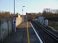 Grove Park stn Bromley North platform look south4.JPG